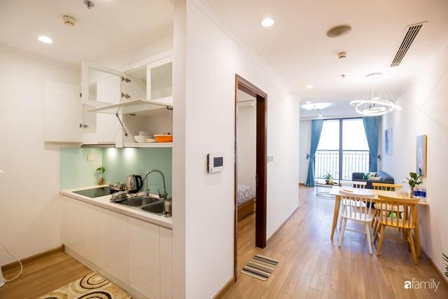 Chỉ vỏn vẹn 56m² nhưng căn hộ nhỏ dưới đây lại rộng thoáng bất ngờ nhờ cách bài trí thông minh của chủ nhà ở Hà Nội - Ảnh 15.