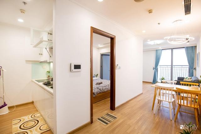 Chỉ vỏn vẹn 56m² nhưng căn hộ nhỏ dưới đây lại rộng thoáng bất ngờ nhờ cách bài trí thông minh của chủ nhà ở Hà Nội - Ảnh 17.