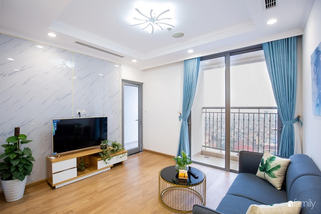 Chỉ vỏn vẹn 56m² nhưng căn hộ nhỏ dưới đây lại rộng thoáng bất ngờ nhờ cách bài trí thông minh của chủ nhà ở Hà Nội - Ảnh 6.