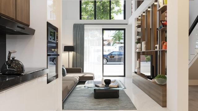 Tầng lửng, giải pháp hữu ích cho những ngôi nhà ở đô thị - Ảnh 1.