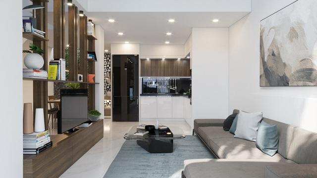 Tầng lửng, giải pháp hữu ích cho những ngôi nhà ở đô thị - Ảnh 2.