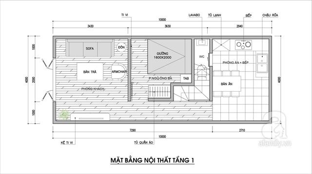 Tư vấn thiết kế cho nhà cấp 4 có diện tích 40m² với chi phí 90 triệu đồng - Ảnh 2.