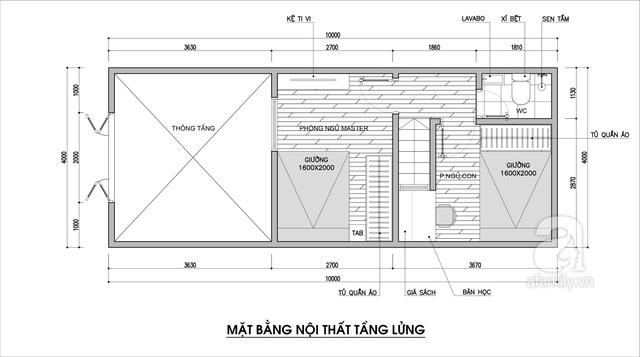 Tư vấn thiết kế cho nhà cấp 4 có diện tích 40m² với chi phí 90 triệu đồng - Ảnh 3.