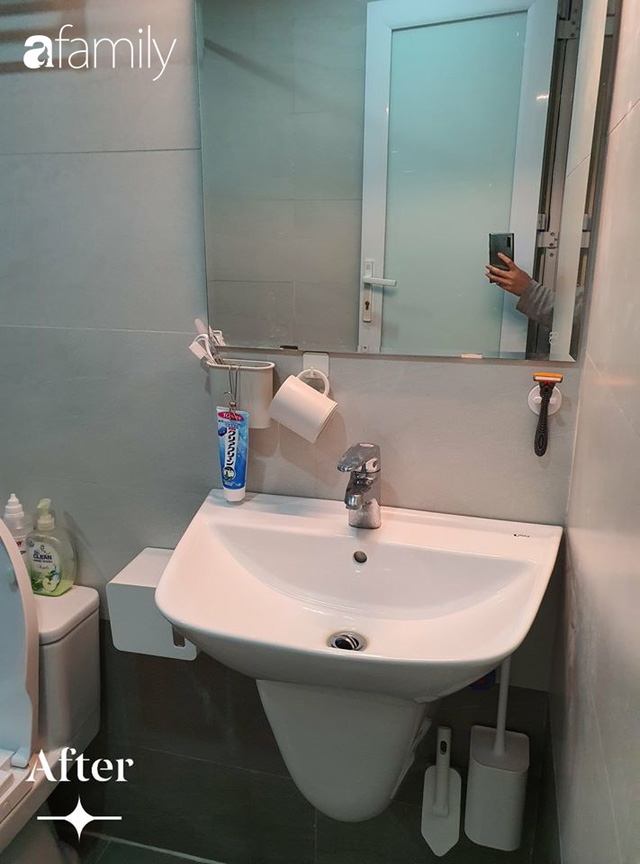 Cuộc cải tổ cho căn hộ 75m² với chi phí 350 triệu đồng, mẹ đảm ở Hà Nội khiến ai cũng công nhận nhà vừa đẹp vừa sang - Ảnh 13.