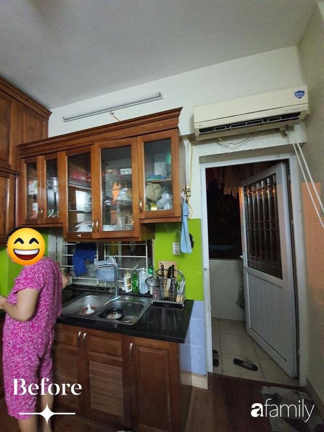 Cuộc cải tổ cho căn hộ 75m² với chi phí 350 triệu đồng, mẹ đảm ở Hà Nội khiến ai cũng công nhận nhà vừa đẹp vừa sang - Ảnh 4.