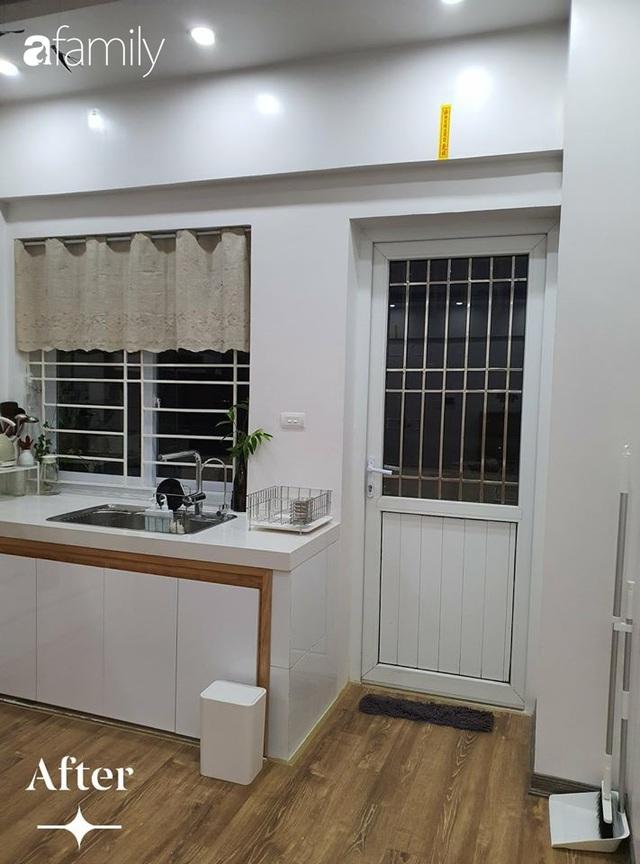 Cuộc cải tổ cho căn hộ 75m² với chi phí 350 triệu đồng, mẹ đảm ở Hà Nội khiến ai cũng công nhận nhà vừa đẹp vừa sang - Ảnh 6.
