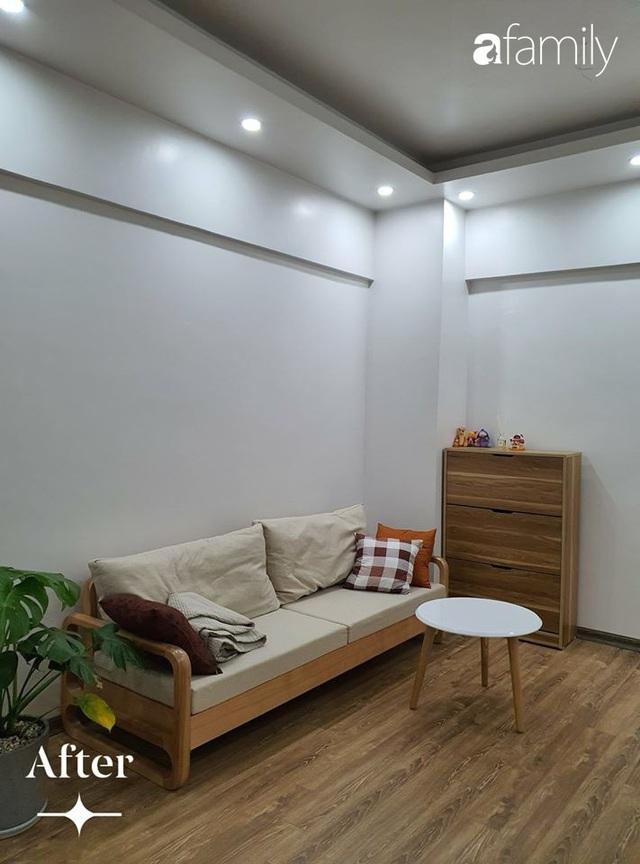 Cuộc cải tổ cho căn hộ 75m² với chi phí 350 triệu đồng, mẹ đảm ở Hà Nội khiến ai cũng công nhận nhà vừa đẹp vừa sang - Ảnh 8.