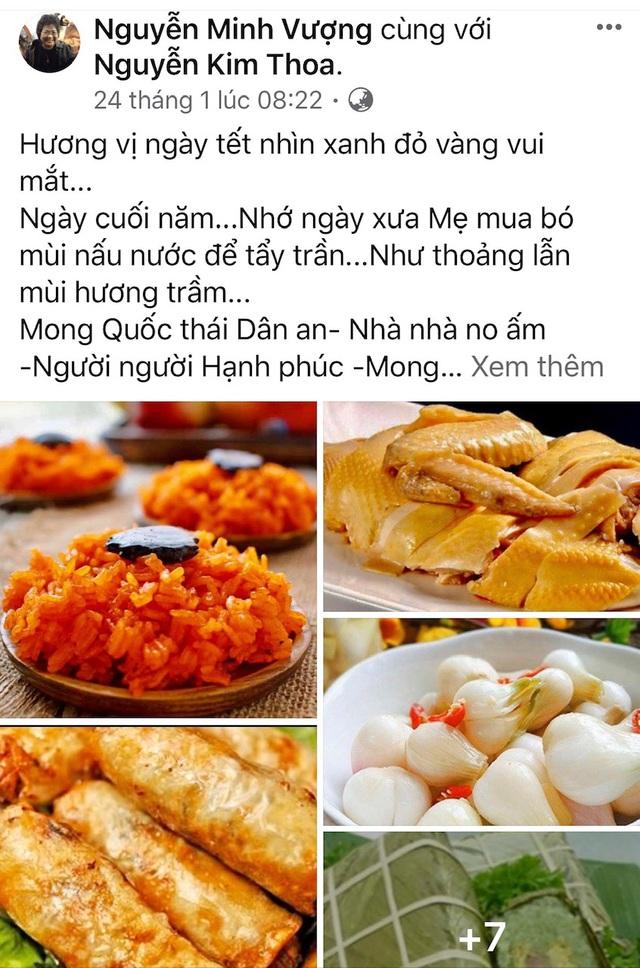 Nghệ sĩ hài Minh Vượng nhận cơn mưa lời khen với món bún thang Hà Nội - Ảnh 4.