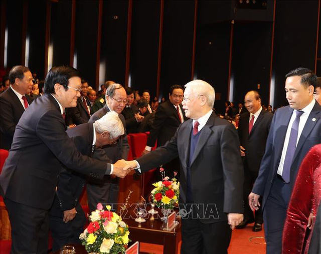 Mít tinh trọng thể kỷ niệm 90 năm Ngày thành lập Đảng Cộng sản Việt Nam  - Ảnh 2.