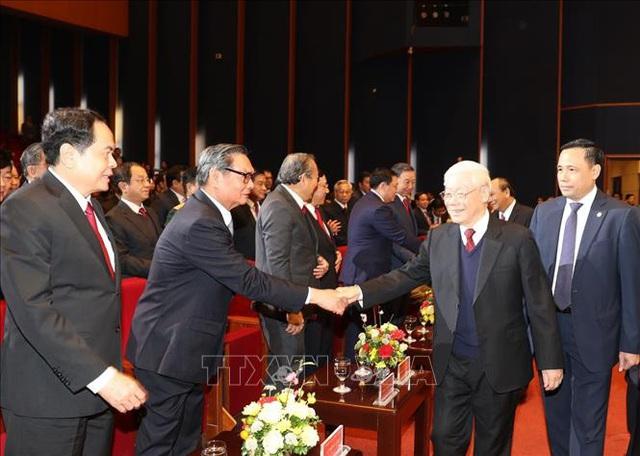 Mít tinh trọng thể kỷ niệm 90 năm Ngày thành lập Đảng Cộng sản Việt Nam - Ảnh 4.