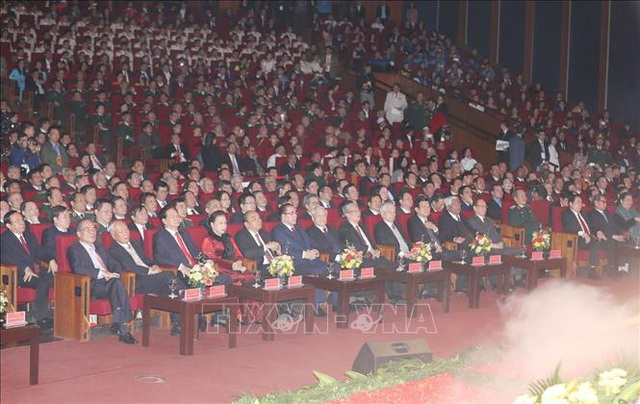Mít tinh trọng thể kỷ niệm 90 năm Ngày thành lập Đảng Cộng sản Việt Nam  - Ảnh 5.