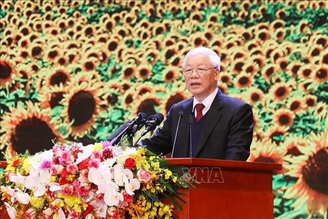Mít tinh trọng thể kỷ niệm 90 năm Ngày thành lập Đảng Cộng sản Việt Nam  - Ảnh 7.
