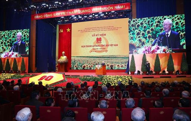 Mít tinh trọng thể kỷ niệm 90 năm Ngày thành lập Đảng Cộng sản Việt Nam - Ảnh 10.