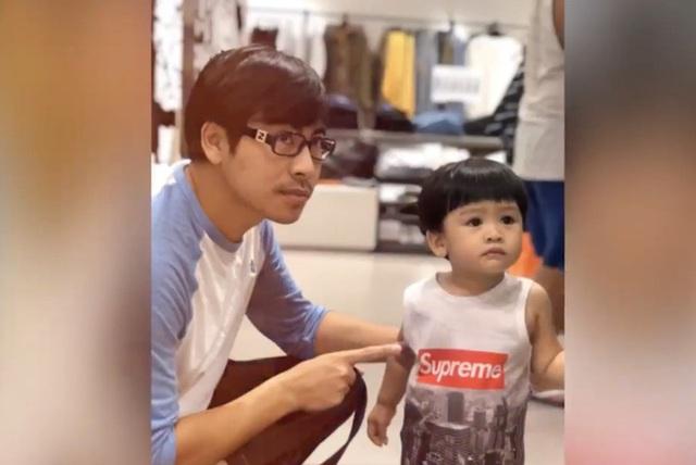 Ngọc Lan chia sẻ video của con trai và Thanh Bình - Ảnh 1.