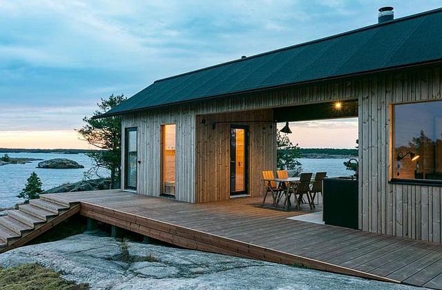 Ngôi nhà nhỏ xíu kiểu cabin mang phong cách Scandinavia đẹp đến nao lòng - Ảnh 8.