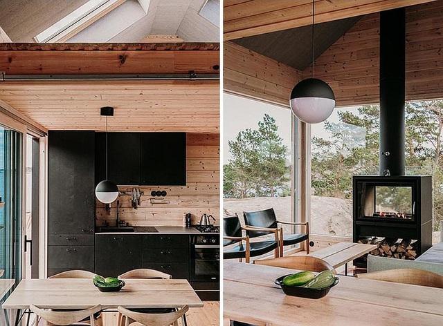 Ngôi nhà nhỏ xíu kiểu cabin mang phong cách Scandinavia đẹp đến nao lòng - Ảnh 10.