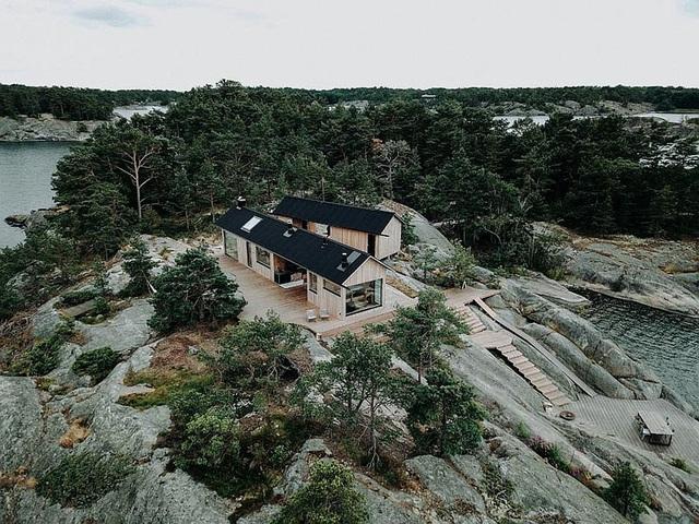 Ngôi nhà nhỏ xíu kiểu cabin mang phong cách Scandinavia đẹp đến nao lòng - Ảnh 11.