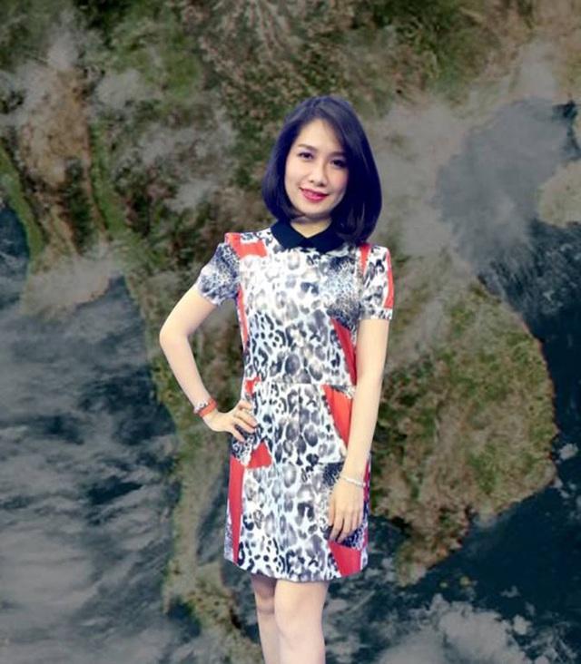 Điều ít biết về nữ MC xinh đẹp, dẫn thời tiết lâu đời nhất của VTV - Ảnh 1.