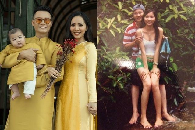 16 năm bên nhau của vợ chồng Hoàng Bách - Ảnh 1.