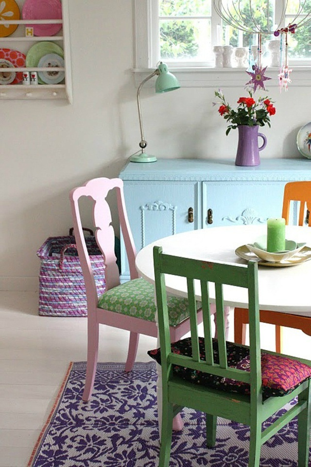 Những ý tưởng tạo vẻ đẹp thời thượng cho phòng ăn bằng bí quyết kết hợp nội thất - Ảnh 12.