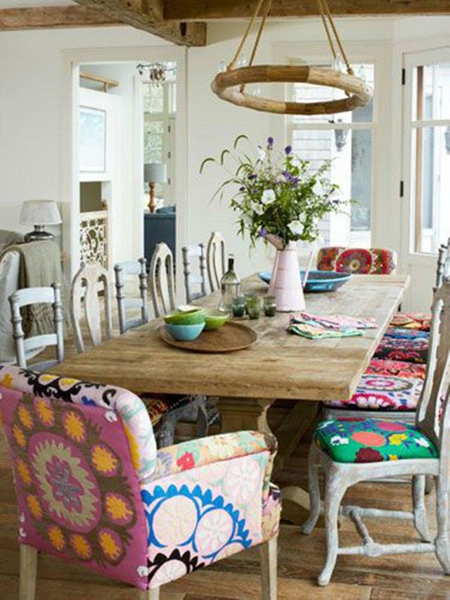 Những ý tưởng tạo vẻ đẹp thời thượng cho phòng ăn bằng bí quyết kết hợp nội thất - Ảnh 14.