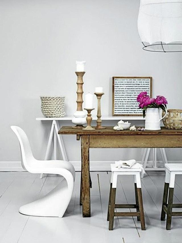 Những ý tưởng tạo vẻ đẹp thời thượng cho phòng ăn bằng bí quyết kết hợp nội thất - Ảnh 17.