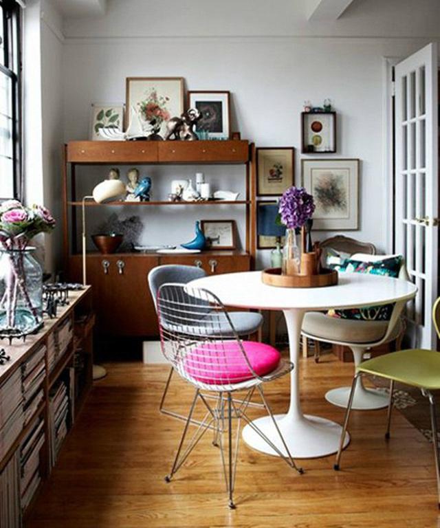 Những ý tưởng tạo vẻ đẹp thời thượng cho phòng ăn bằng bí quyết kết hợp nội thất - Ảnh 18.