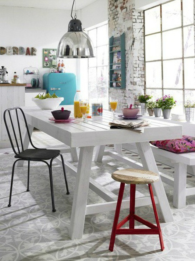 Những ý tưởng tạo vẻ đẹp thời thượng cho phòng ăn bằng bí quyết kết hợp nội thất - Ảnh 19.