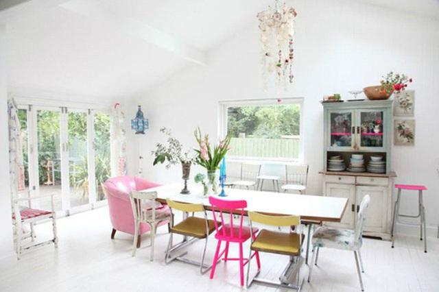 Những ý tưởng tạo vẻ đẹp thời thượng cho phòng ăn bằng bí quyết kết hợp nội thất - Ảnh 6.