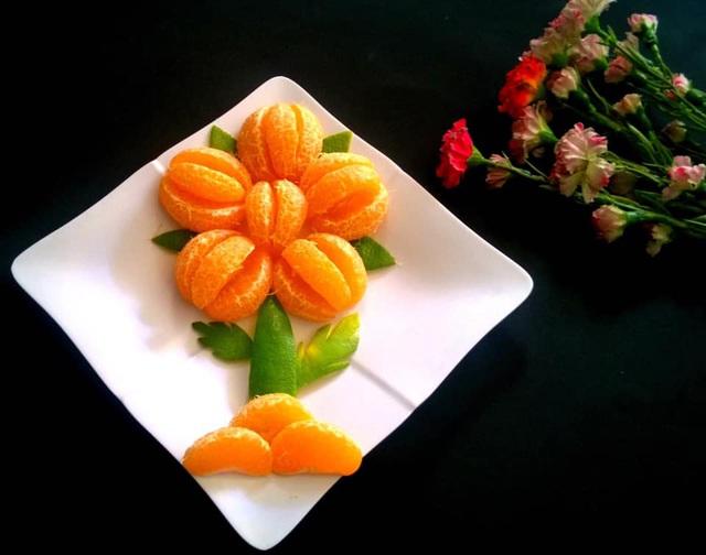 Mẹ đảm trình bày đĩa hoa quả như một bức tranh không ai nỡ ăn - Ảnh 4.