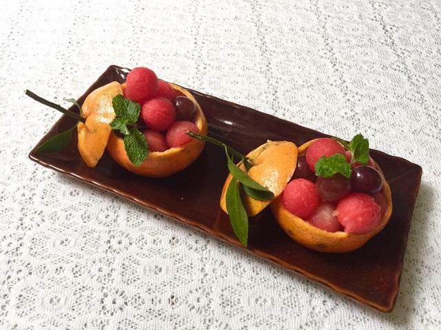 Mẹ đảm trình bày đĩa hoa quả như một bức tranh không ai nỡ ăn - Ảnh 16.