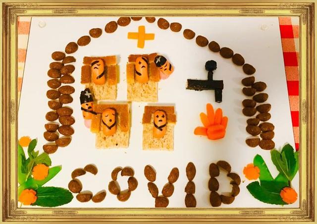 Nói với con về cách phòng dịch COVID-19 bằng những món ăn - Ảnh 3.