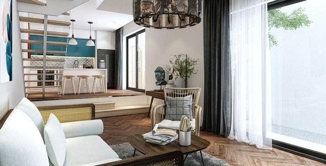 Gia chủ hoài cổ sử dụng nội thất năm 1970 đầy sáng tạo cho ngôi nhà của mình - Ảnh 3.