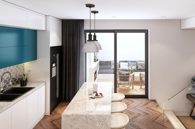 Gia chủ hoài cổ sử dụng nội thất năm 1970 đầy sáng tạo cho ngôi nhà của mình - Ảnh 5.