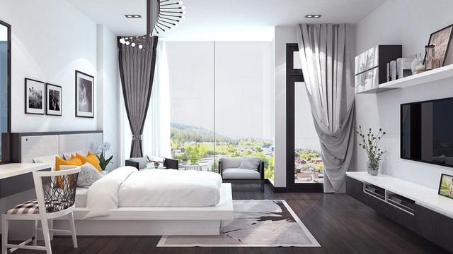 Nhà phố sử dụng tông màu trắng mang đến cảm giác không gian rộng gấp đôi - Ảnh 6.