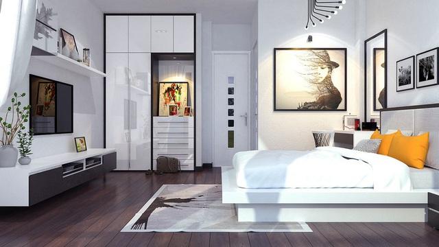 Nhà phố sử dụng tông màu trắng mang đến cảm giác không gian rộng gấp đôi - Ảnh 8.