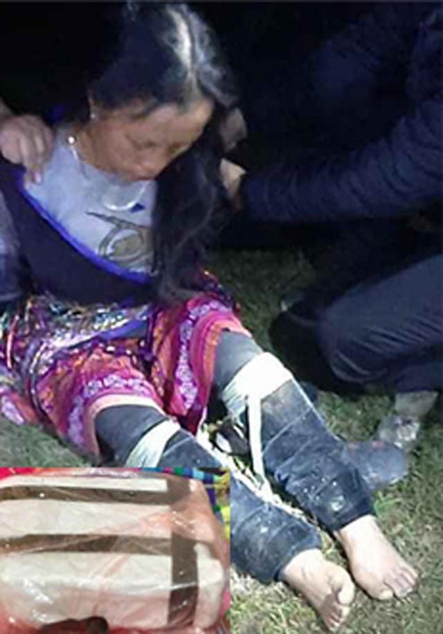 Bắt quả tang người đàn bà mang heroin tại đèo Khau Phạ - Ảnh 1.