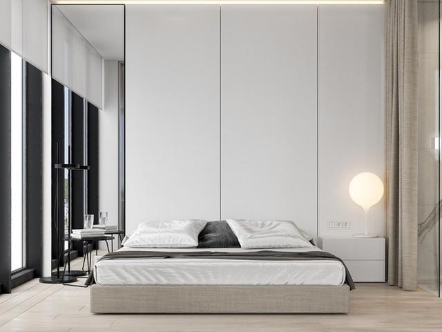 Ai muốn phòng ngủ của mình sang trọng mãi với thời gian đừng bỏ qua các mẫu phòng ngủ màu trắng đẹp hớp hồn này - Ảnh 13.