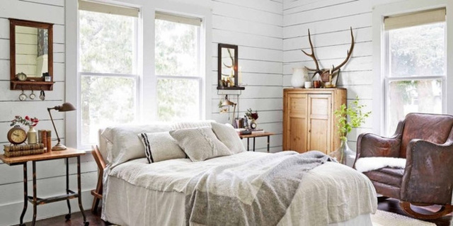 Ai muốn phòng ngủ của mình sang trọng mãi với thời gian đừng bỏ qua các mẫu phòng ngủ màu trắng đẹp hớp hồn này - Ảnh 2.