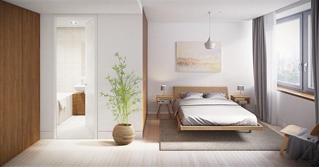 Ai muốn phòng ngủ của mình sang trọng mãi với thời gian đừng bỏ qua các mẫu phòng ngủ màu trắng đẹp hớp hồn này - Ảnh 12.