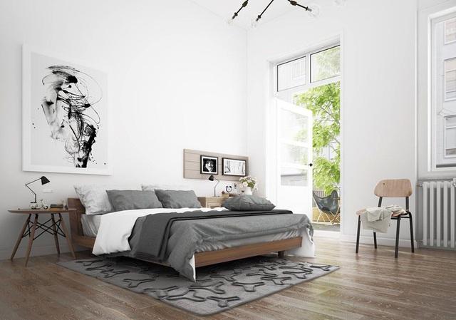 Ai muốn phòng ngủ của mình sang trọng mãi với thời gian đừng bỏ qua các mẫu phòng ngủ màu trắng đẹp hớp hồn này - Ảnh 15.