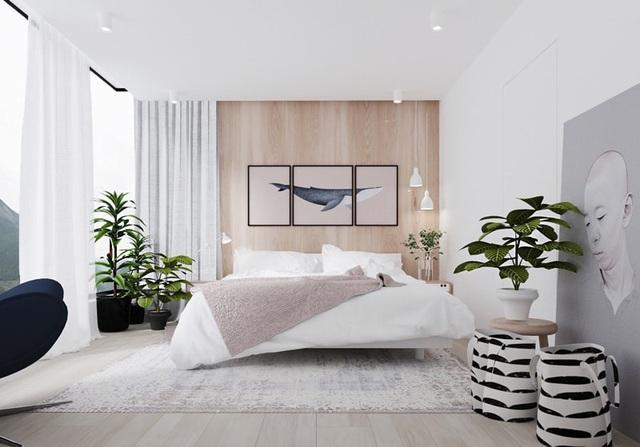 Ai muốn phòng ngủ của mình sang trọng mãi với thời gian đừng bỏ qua các mẫu phòng ngủ màu trắng đẹp hớp hồn này - Ảnh 3.