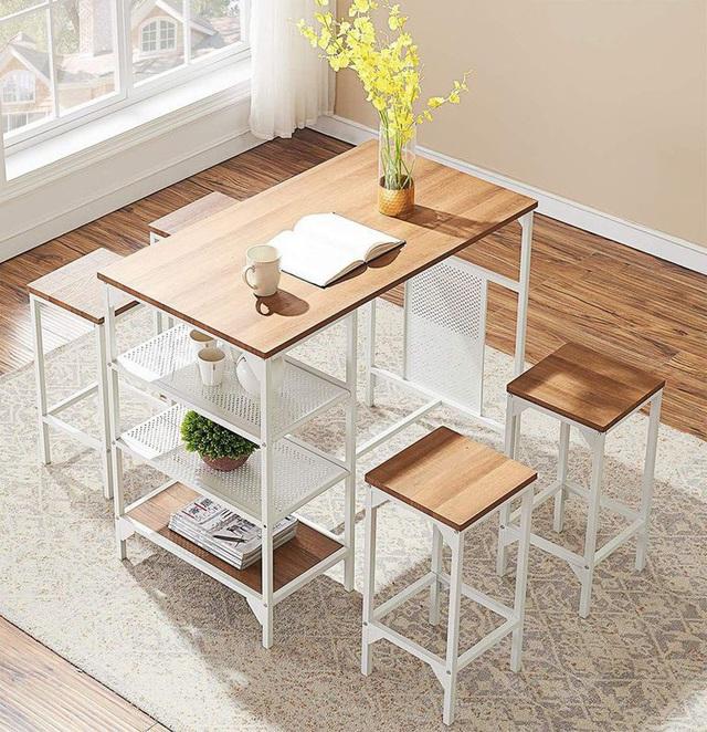 Những mẫu bàn ăn nhỏ làm thay đổi quan niệm chỉ có bàn ăn to mới sang, đẹp của nhiều người - Ảnh 13.