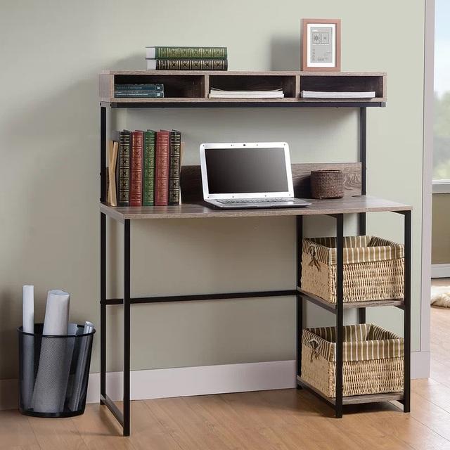 Nếu bạn có một căn nhà nhỏ thì đừng bỏ qua những mẫu kệ để đồ kết hợp bàn ghế vừa đẹp vừa tiện dụng này - Ảnh 12.