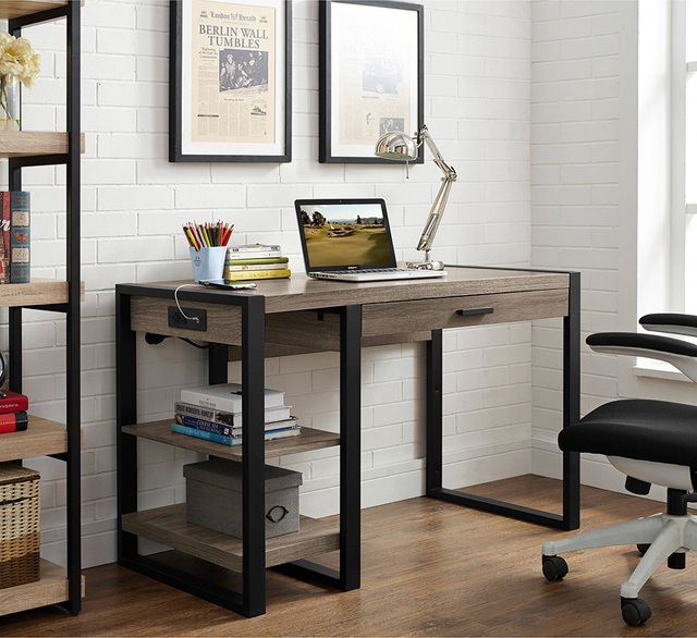 Nếu bạn có một căn nhà nhỏ thì đừng bỏ qua những mẫu kệ để đồ kết hợp bàn ghế vừa đẹp vừa tiện dụng này - Ảnh 3.