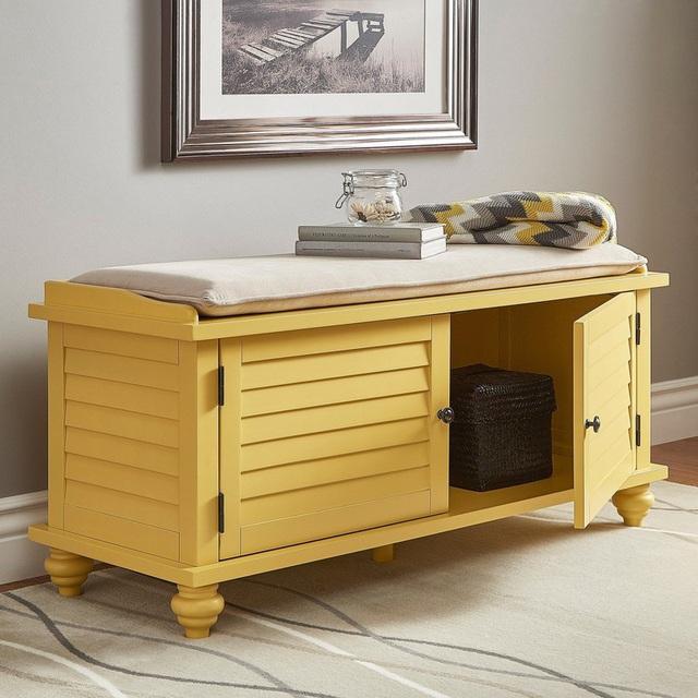 Nếu bạn có một căn nhà nhỏ thì đừng bỏ qua những mẫu kệ để đồ kết hợp bàn ghế vừa đẹp vừa tiện dụng này - Ảnh 4.