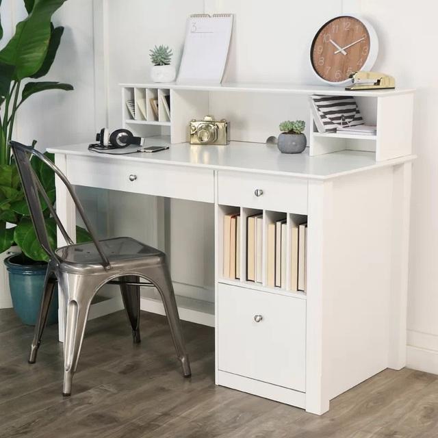 Nếu bạn có một căn nhà nhỏ thì đừng bỏ qua những mẫu kệ để đồ kết hợp bàn ghế vừa đẹp vừa tiện dụng này - Ảnh 8.