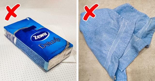 Công dụng của việc cho hai tờ khăn ướt vào máy giặt khiến bà nội trợ nào cũng muốn học theo - Ảnh 4.