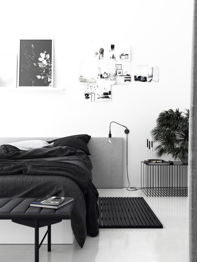 Đây là mẫu phòng ngủ được các gia đình trẻ lựa chọn nhiều nhất  bởi sự tối giản và tinh tế - Ảnh 4.