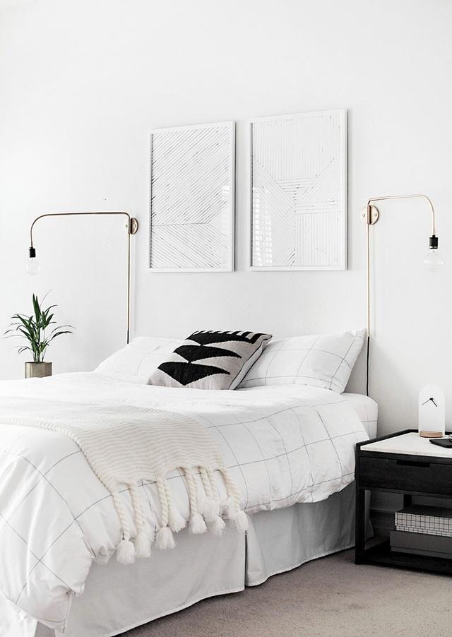 Đây là mẫu phòng ngủ được các gia đình trẻ lựa chọn nhiều nhất  bởi sự tối giản và tinh tế - Ảnh 7.